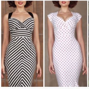 Stop Staring Alicia Estrada 10 striped dress